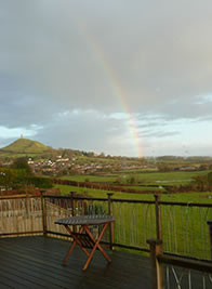rainbow over the tor